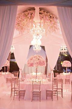Prettiest Pink Wedding Dream Theme - Kim & Karen Blog