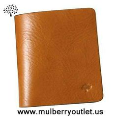 New Mulberry Mens Wallet Light Coffee Outlet