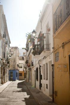 Denia, Costa Blanca, Spain. via http://makingmagique.com/travel/costa-blanca/