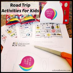 Summer road trips and keeping your kids content ~ the magic a busy Mom dreams of =) Road trip activities for kids!
