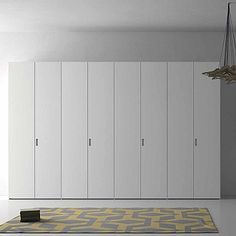 Unique, luxury 'Star' Wardrobe. White, soft wood. Perfect for classic and modern room. My Italian Living.
