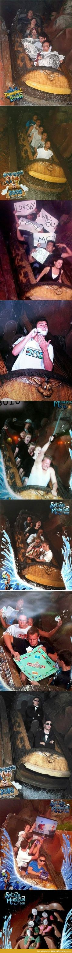 Funny pictures about Best of Disneyland's Splash Mountain. Oh, and cool pics about Best of Disneyland's Splash Mountain. Also, Best of Disneyland's Splash Mountain photos. Really Funny, Funny Cute, The Funny, Hilarious, Humour Disney, Disney Memes, Funny Disney, Splash Mountain, Stupid Funny Memes