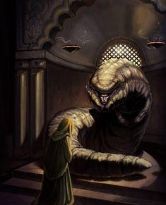 God Emperor of Dune by NathanRosario.deviantart.com on @deviantART