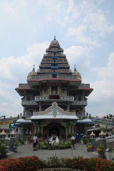 Annai Velangkanni (Catholic Shrine with Tamil Hindu-style architecture)
