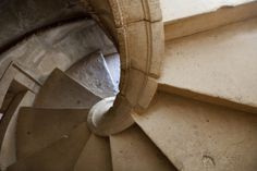 Portugal, Ribatejo Province, Tomar, Convent of the Knights of Christ, Spiral Staircase - Par: Samuel Magal