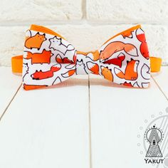 Bow Tie Foxes mimimi Bowtie foxes Bow tie with cute от BowTieYAKUT