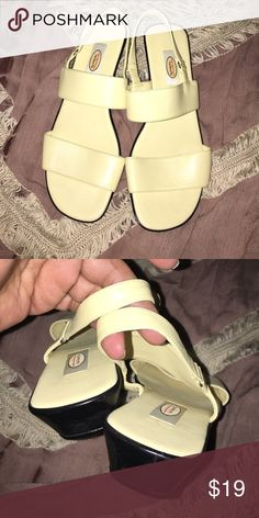 New talbots sandals Casual yellow sandal Talbots Shoes