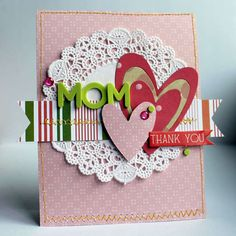 doily o card front - like the extra detail and texture it adds