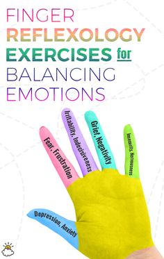 This five-minute finger reflexology exercise can help you balance your emotions and energy.