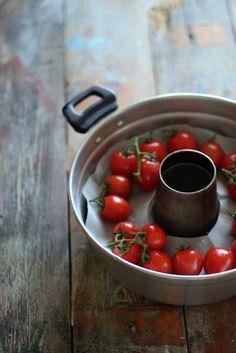"""""""di cuore"""": pomodorini arrosto in pentola fornetto"""