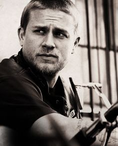 Charlie Hunnam... otherwise known as Jax Teller on Sons of Anarchy