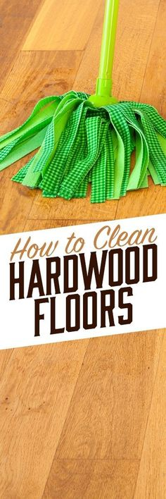When cleaning hardwood floors, it's important to use a cleaner that won't damage the finish or the surface of the wood. Simple Green All-Purpose Cleaner is great for cleaning up spills and scuff marks, and tackling dirty areas without degrading the fin Safe Cleaning Products, Household Cleaning Tips, Cleaning Recipes, Cleaning Solutions, Cleaning Hacks, Speed Cleaning, Household Organization, Organizing Tips, Car Cleaning