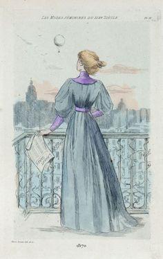 1870 [Women's fashion in nineteenth-century Paris]