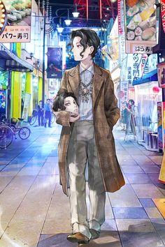 Muzan Kibutsuji Slayer: Kimetsu no Yaiba Anime Angel, Anime Demon, Manga Anime, Anime Art, Demon Slayer, Slayer Anime, Game Character Design, Character Art, Character Design