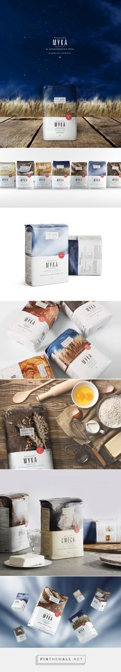 Ryazanochka Flour Packaging by Chmybrand Studio | Fivestar Branding Agency – Design and Branding Agency & Curated Inspiration Gallery