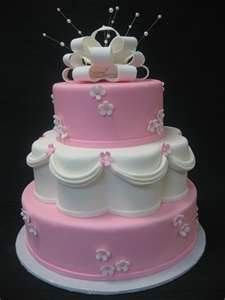 petal cakes - Love the different shapes!