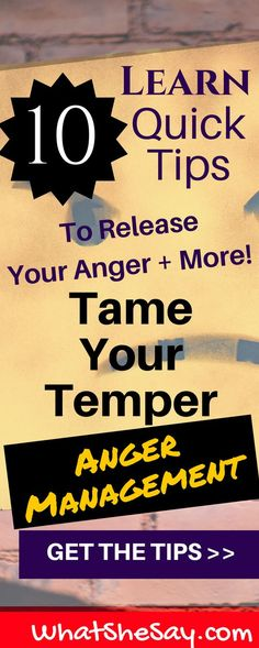 10 Proven Methods for Anger Management – Why You May Feel Angry and How to Control Your Anger to Prevent It from Controlling You - What She Say Anger Management For Adults, Anger Management Techniques, Anger Management Activities, Counseling Activities, Coping Skills, Life Skills, How To Control Anger, Activities For Adults, Anger Issues