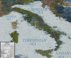"""NEL 2100 L'ITALIA SARÀ SOMMERSA DAL MARE, NUOVE COSTE E NUOVE ISOLE: """"COLPA DELL'UOMO"""""""