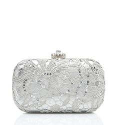 Lace Hardcase Clutch <3