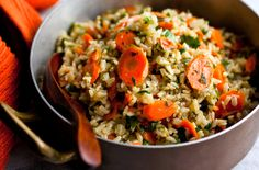 NYT Cooking: Rice Pilaf With Carrots and Parsley