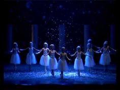 Lo Schiaccianoci - fiocchi di neve - Caikovskij - Balletto del Sud