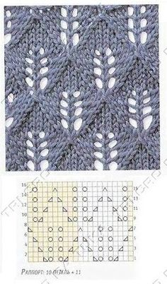 """Ажурные узоры спицами """"Candle Light - lots of lace patterns, not in English but with charts. Now I just need to learn to understand lace knitting charts. Lace Knitting Patterns, Knitting Stiches, Knitting Charts, Lace Patterns, Free Knitting, Crochet Stitches, Stitch Patterns, Knitting Designs, Knitting Projects"""