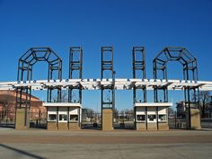 Entrance to Ohio Expo Center & State Fair in Columbus, Ohio