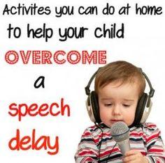 Activites for speech delay