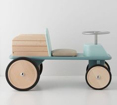 Exquisite Wooden Cars by Moulin Roty