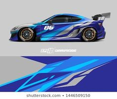 Find Car Wrap Design Concept Abstract Racing stock images in HD and millions of other royalty-free stock photos, illustrations and vectors in the Shutterstock collection. 3d Racing, Racing Car Design, Pickup Trucks, Car Wrap Design, Cargo Van, Rc Cars, Cool Things To Buy, Concept, Abstract