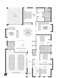 McDonald Jones Homes -Woodlands Manor - Floorplan #Floorplans ...