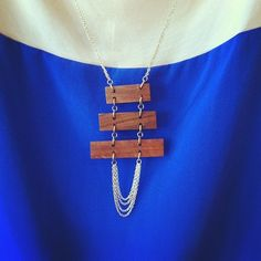#wood #necklace