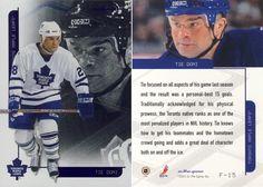 2003-04 Toronto Star Foil - Tie Domi