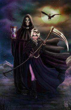 Grim Reapers by AranzazuFernandez.deviantart.com on @DeviantArt