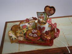 Bandeja San Valentín. por Saramanus en Etsy