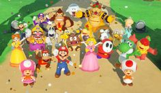 "Do you like Super Mario? How about board games? ""Super Mario Party"" is both! It's a brand new game for the Nintendo Switch, where you and a bunch of f. Super Mario Party, Mario Party Games, Play Super Mario, Super Mario Bros, Nintendo Party, Nintendo Switch Games, Nintendo News, Super Nintendo, Angry Birds"