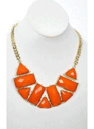 Burst of Light Necklace @Julia Case #orangelove