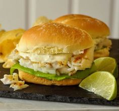 Grilled Cod Sandwich. D'Italiano Brizzolio Extra Soft Rolls make the perfect healthy eating flakey cod sandwich from the summer grill; topped off with delicious lime caper tartar sauce.