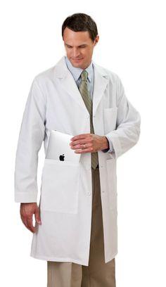 """Unisex iPad 40"""" Lab Coat"""