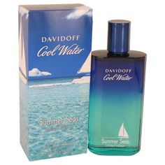 Cool Water Summer Seas by Davidoff Eau De Toilette Spray 4.2 oz