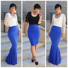 Mimi G Slinky Ruched mermaid & Pencil Skirt Pattern! I need this ASAP Fashion Sewing, Diy Fashion, Love Fashion, Fashion Outfits, Womens Fashion, Fashion Casual, Divas, Do It Yourself Fashion, Mode Inspiration