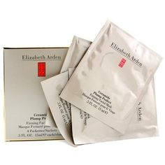 Elizabeth Arden Ceramide Plump Perfect Firming Facial Mask by Elizabeth Arden. $29.99. 15ml / 0.5oz (4 Packettes). Elizabeth Arden Ceramide Plump Perfect Firming Facial Mask. Masks & Peels. New in Box. This cloth mask nourishes skin with concentrated argireline & ceramide lifts skin & reduces appearance of fine lines, wrinkles plumps surface lines to smooth out visible signs of aging & stress skin appears firmer, retexturized & renewed continued usage leaves skin b...