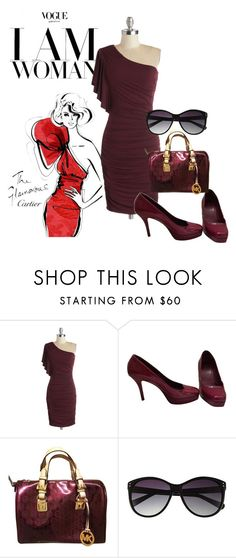 """I am Woman!"" by brandonandrews500 ❤ liked on Polyvore featuring Gucci, Michael Kors and Vince Camuto"
