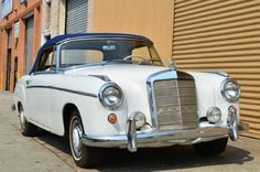 Used 1959 Mercedes-Benz Stock # 18624 in Astoria, NY at Gullwing Motor Cars, NY's premier pre-owned luxury car dealership. Come test drive a Mercedes-Benz today! Luxury Car Dealership, Driving Test, Motor Car, Cars And Motorcycles, Trains, Mercedes Benz, Boats, Antique Cars, Restoration