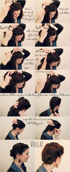 40 Twisted Bun Hairstyles And Tutorials - Page 3 of 3 - Fashion