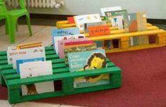 Cómo organizar un rincón de biblioteca en el aula con material reciclado