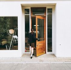 Retail Design, Facade, Garage Doors, Interior, Outdoor Decor, House, Shop, Home Decor, Image