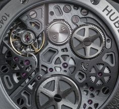 "Hublot Classic Fusion Power Reserve Titanium Watch Review - by Bilal Khan - See more of this thin, in-house Hublot now at: aBlogtoWatch.co - ""With the Hublot Classic Fusion Power Reserve Titanium watch, Hublot has created a thin, lightweight watch with the edge of its siblings and a new in-house manual-wind movement that lets you put the watch away to find it still running a week and a day later. It's sleek and thin, but this Classic Fusion maintains that aggressive Hublot look..."""