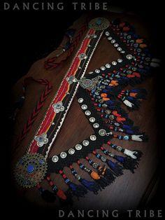 Tribal Belly Dance Nomad Desert Tassel Belt ATS by DancingTribe
