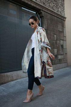 Kimono Outfits for Ramadan
